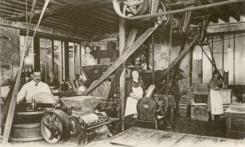 Produzione tradizionale del sapone a marsiglia